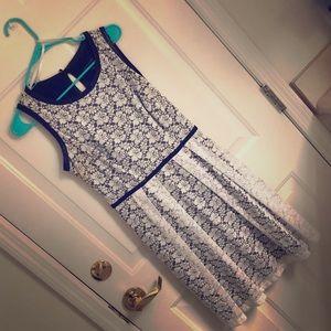 Black and white, Cynthia Rowley dress.